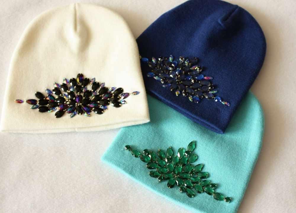 Вышивка на шапках фото 31