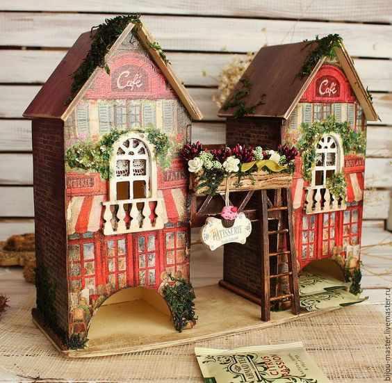 Красивый чайный домик своими руками 43