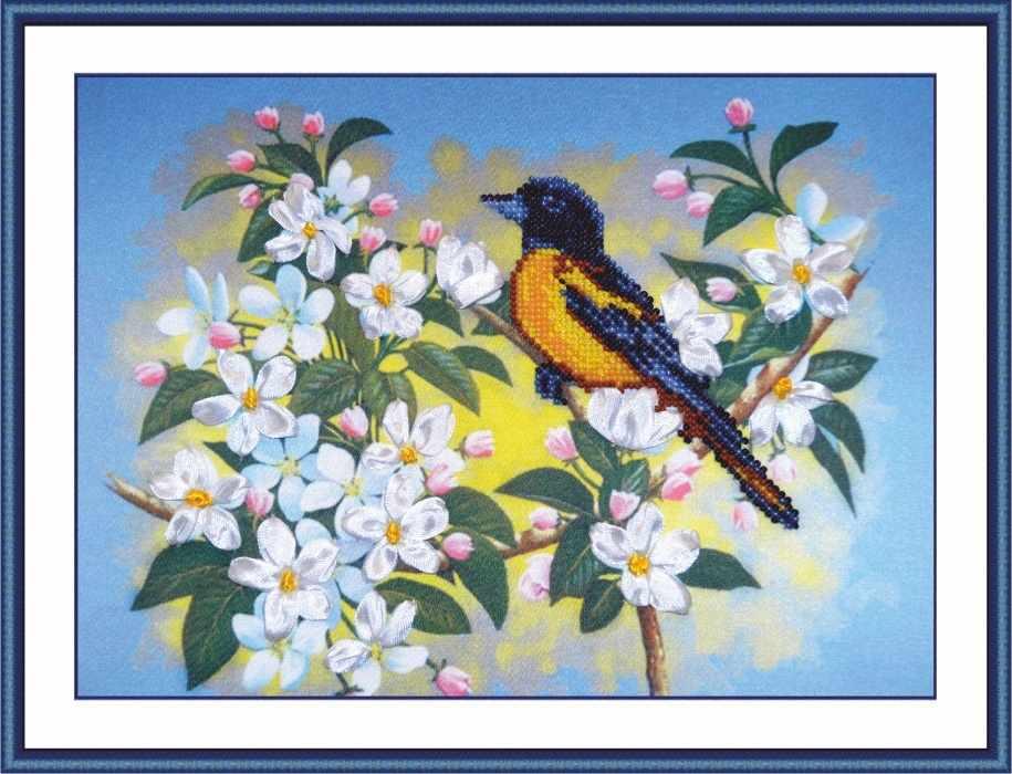 006-РТ Птичка на яблоне (Овен)