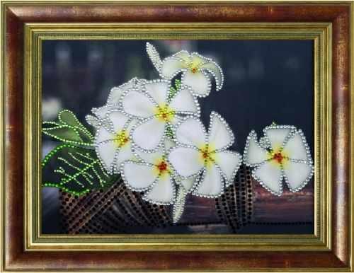 0120 Тропический аромат - картина стразами (Преобрана)