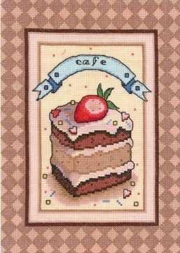 0163 Клубничное пирожное (Nitex)