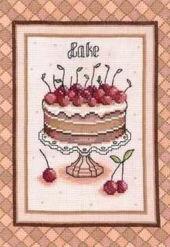 0167 Вишневый торт (Nitex)