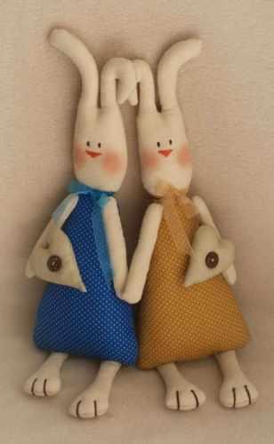 016 Rabbits story набор для изготовления игрушки