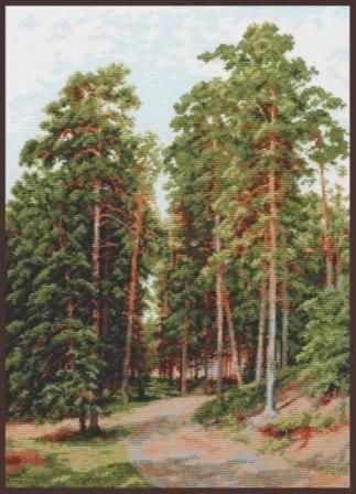 """08.015 """"Солнце в лесу"""" (Палитра)"""