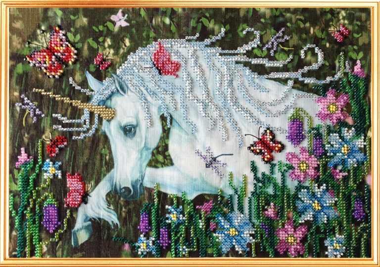 091-ЦВ Единорог и духи леса (ВМ)