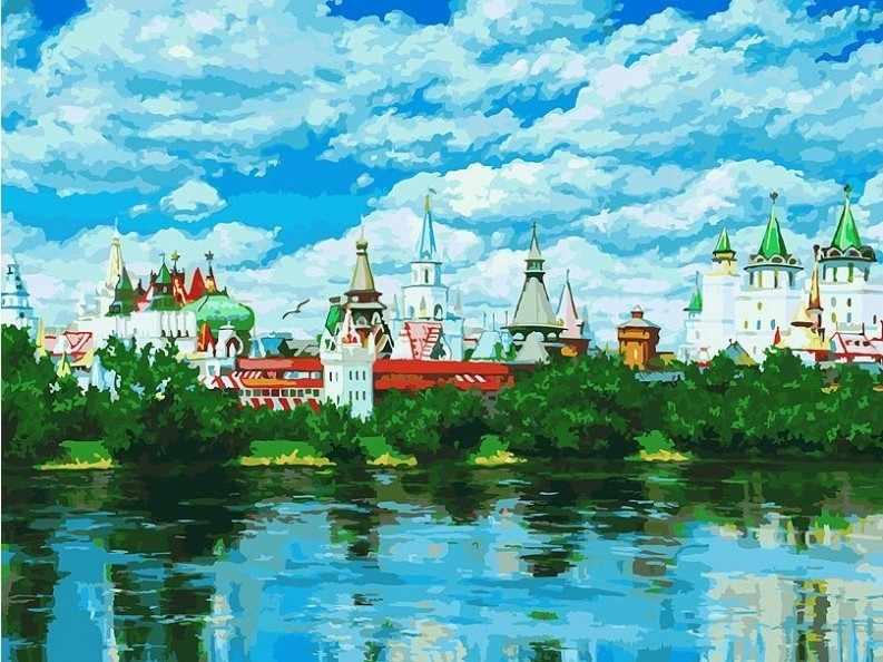 092-AS Русское подворье - раскраска (Белоснежка)