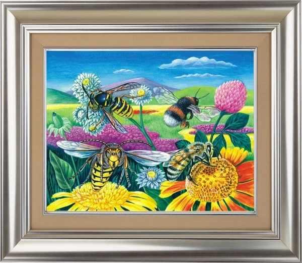 10021 Пчелы и клевер