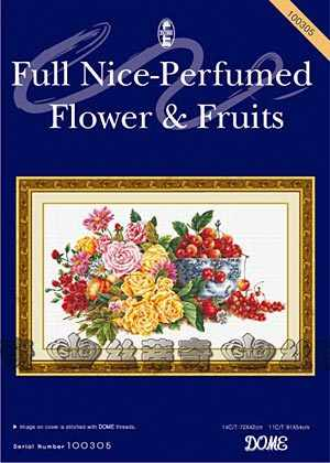 "100305 ""Full Nice-Perfumed Flower & Fruits"" (DOME)"