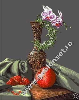 1007 Гранат и орхидеи