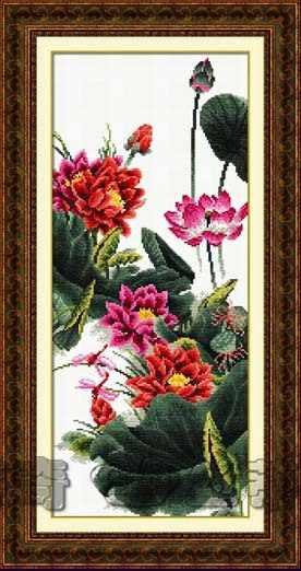 "100814 ""Lotus flowers"" (DOME)"