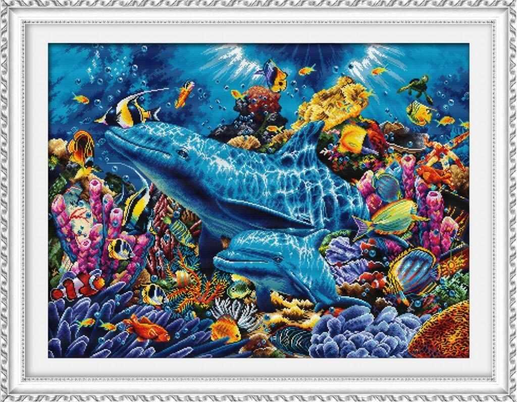 """100907 """"Дельфины в океане"""" (DOME)"""