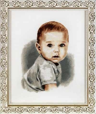 1111 Малыш с голубыми глазами (Alisena)