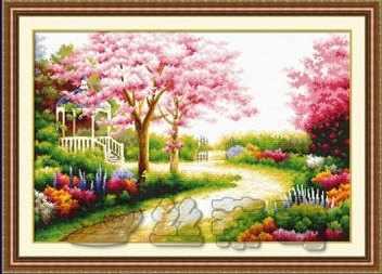 """111204 """"Весенний сад"""" (DOME)"""
