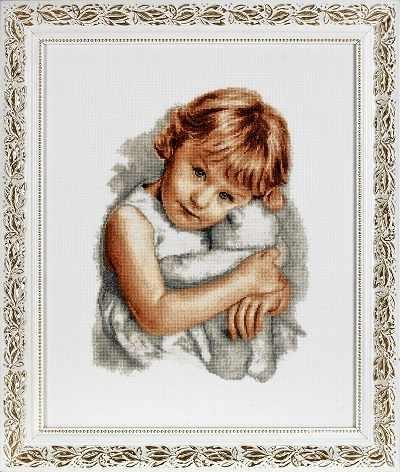 1117 Девочка с мишкой (Alisena)