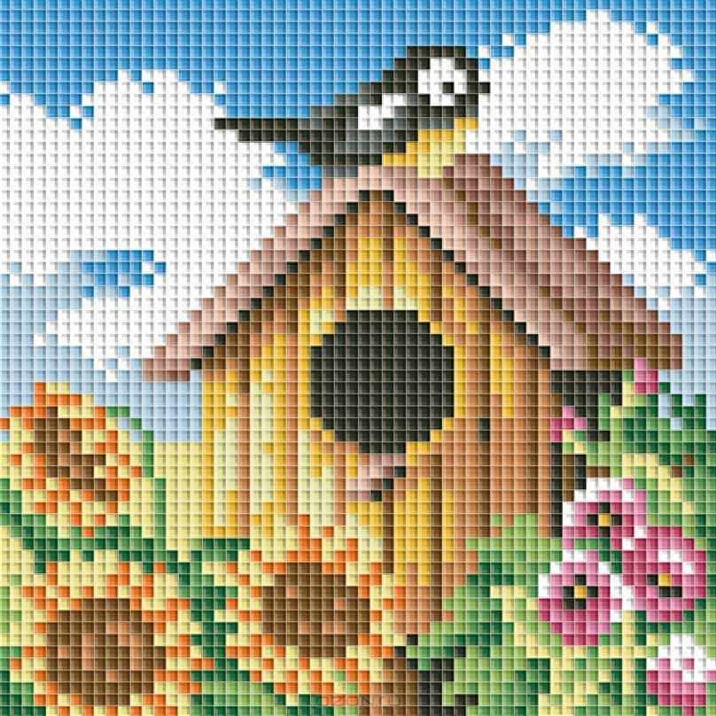 114-ST Птичий домик (Белоснежка)