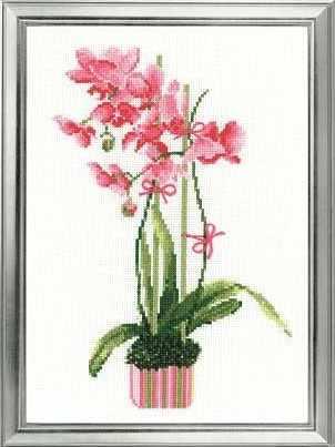 """1162 """"Розовая орхидея"""""""