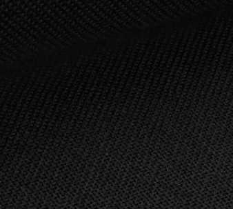 1235 Linda Schulertuuch (100% хлопок), color 720-черная, шир.140, 27 ct-107 кл/10см