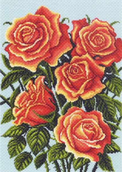 1314 Желтые розы, композиция (МП)