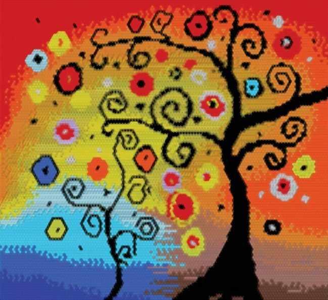 134-ST Древо счастья (Белоснежка)