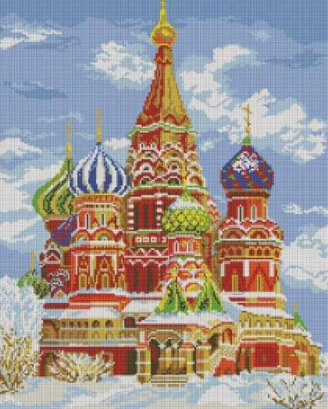 141-ST Храм Василия Блаженного (Белоснежка)