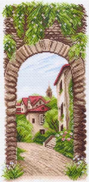 1498 Уютное местечко - рисунок на канве (МП)