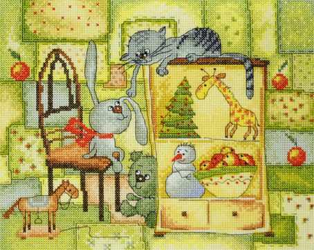 15.001.18 Рождественское одеяло (МИ)