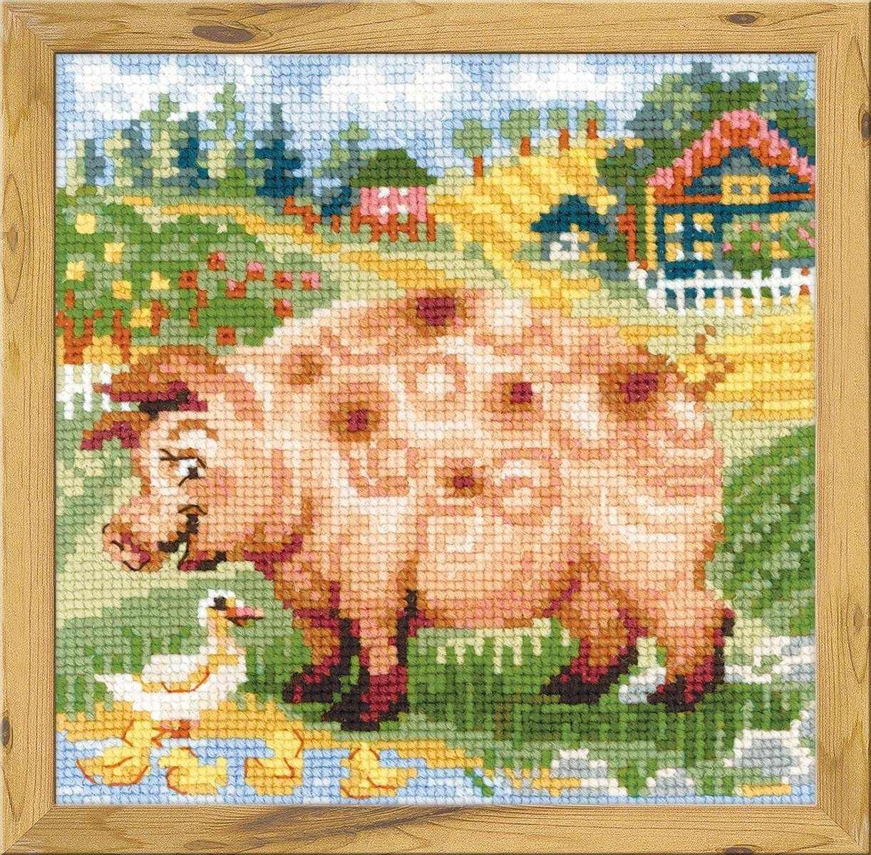 """1523 """"Хуторок, Свинка"""""""