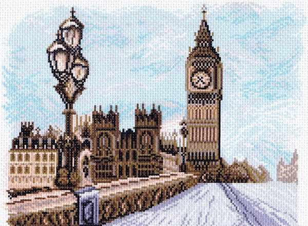 1531 Лондон рисунок на канве (МП)