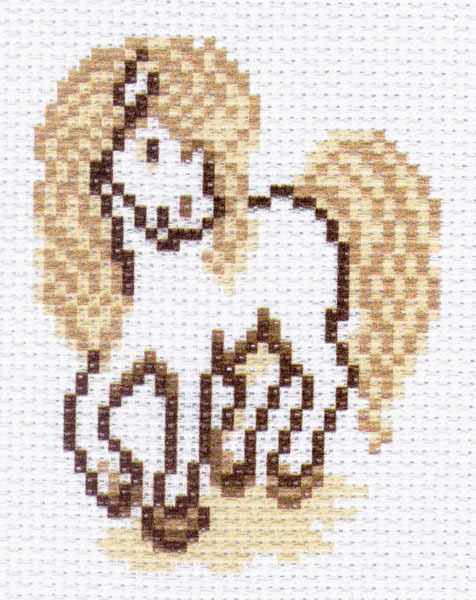 1533 Лошадка рисунок на канве (МП)