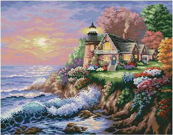 1563 мозаика (Honey home)