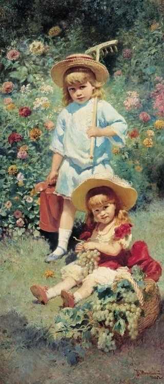 167 Портрет детей
