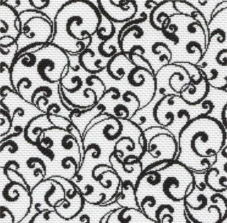 1716 Пастельный узор - рисунок на канве