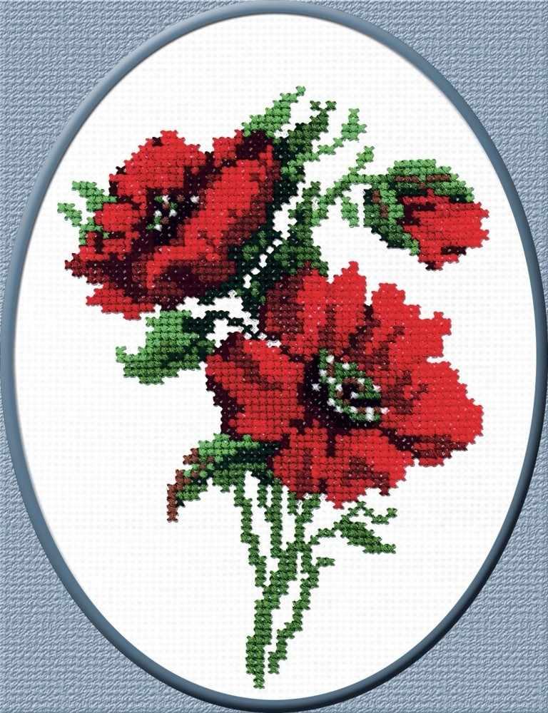 """172 """"Красные цветочки"""""""