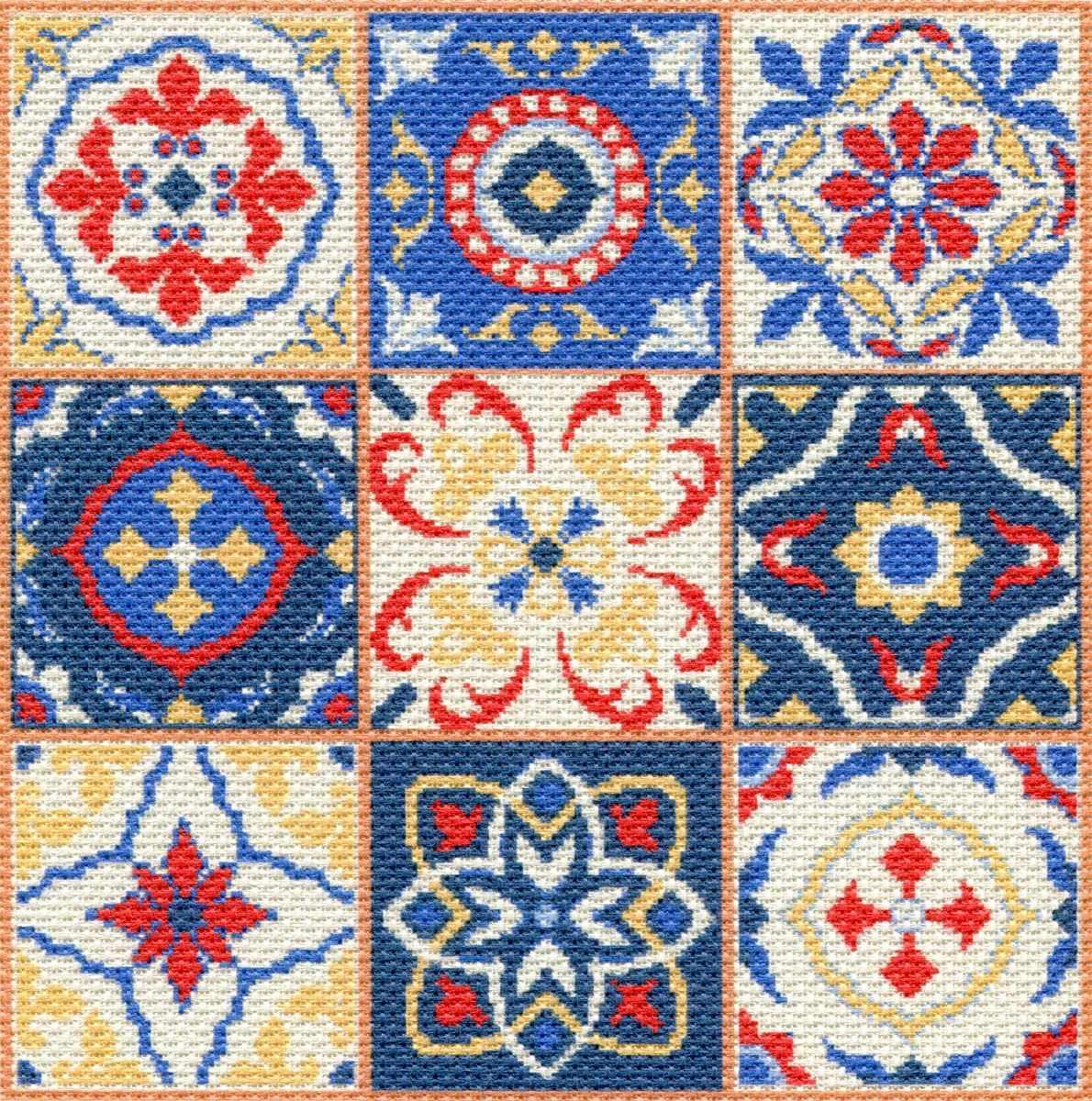 1751 Мозаика - набор для вышивания (МП)