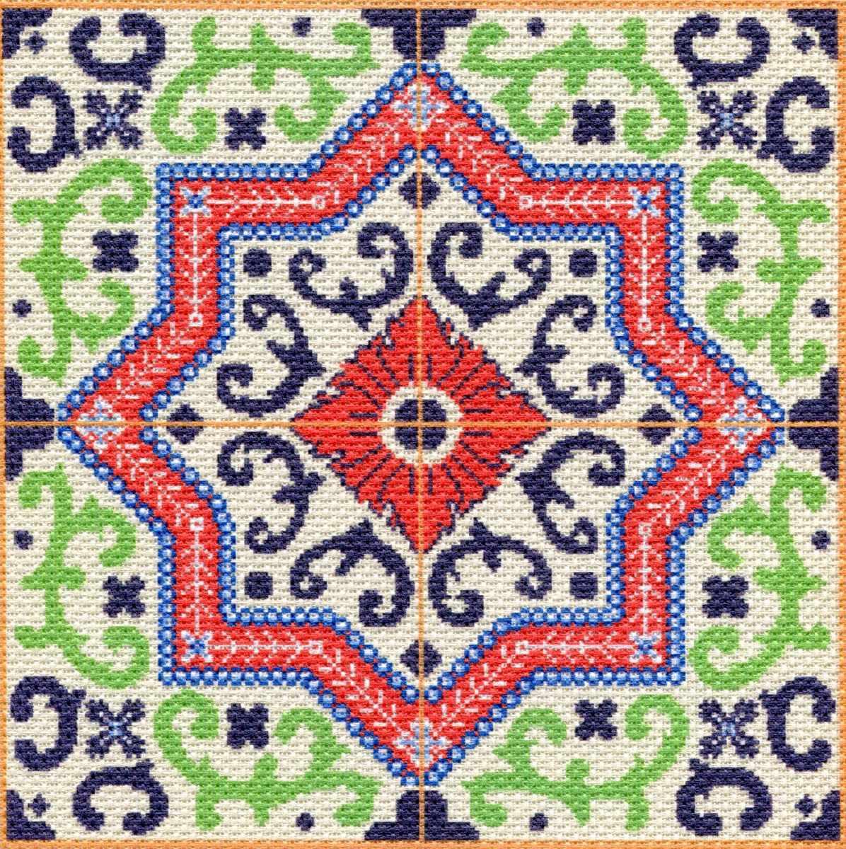 1752 Ажур - набор для вышивания (МП)