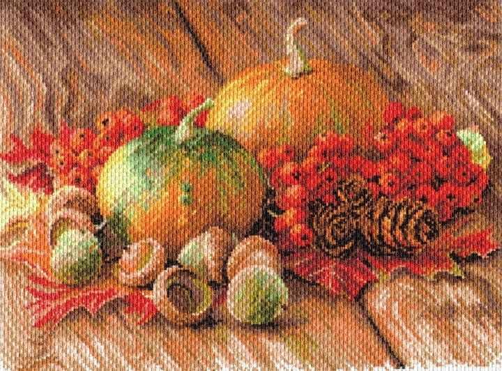 1754 Дачный сезон - рисунок на канве (МП)