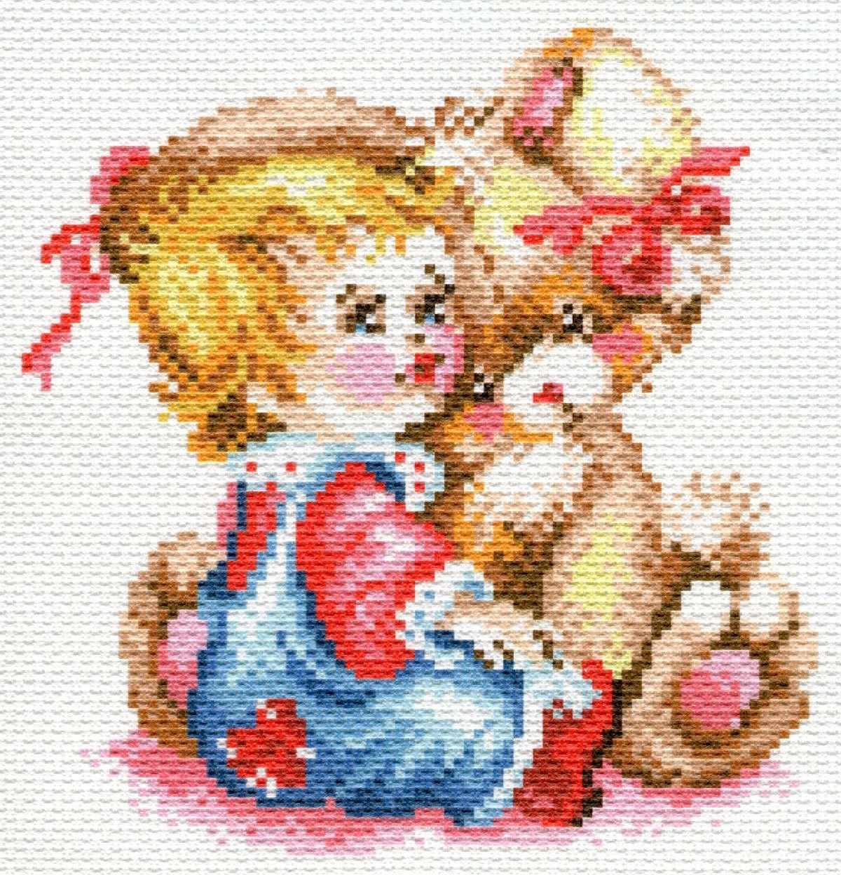 1780/Н Первый друг - набор для вышивания (МП)