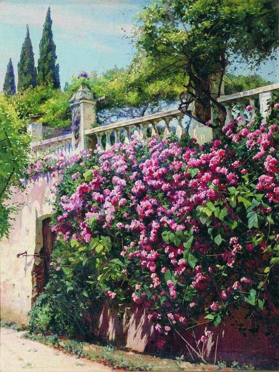 193 Цветущие розы