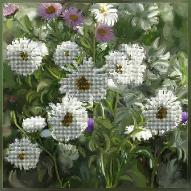 1Нбис-030арт Цветы из детства - набор