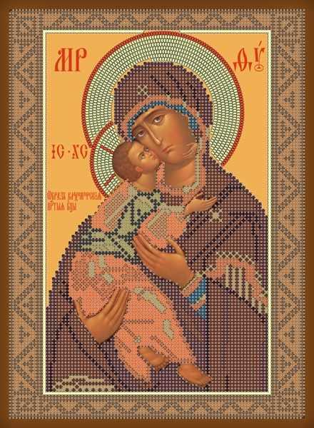 1НИ-011 Владимирская икона Б. М. - набор