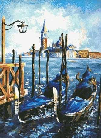 20267 Гондолы в Венеции KKrafts