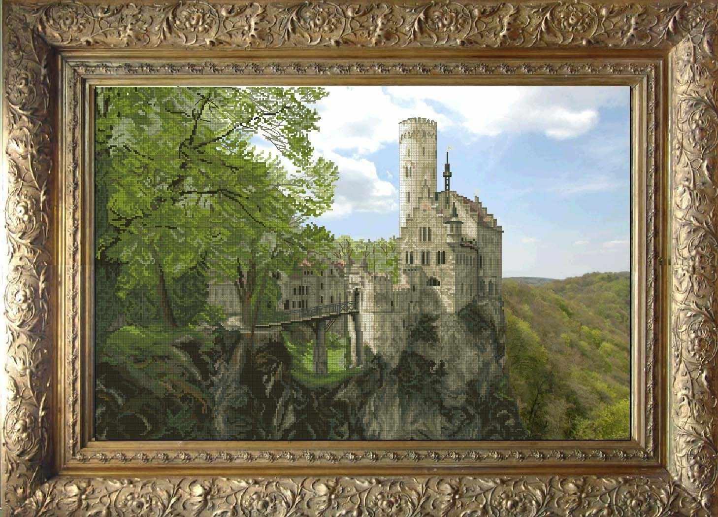 21012 Замок Лихтенштейн  (КТ)