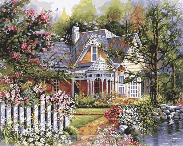 "21676 PLD ""Викторианский сад"" - раскраска"