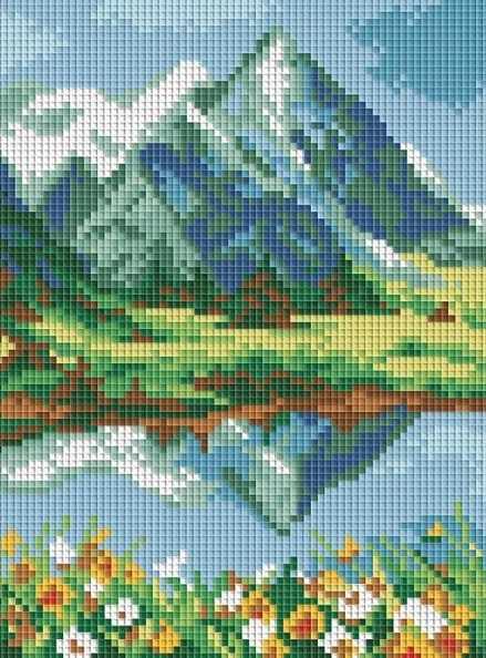 218-ST Высокогорное озеро (Белоснежка)