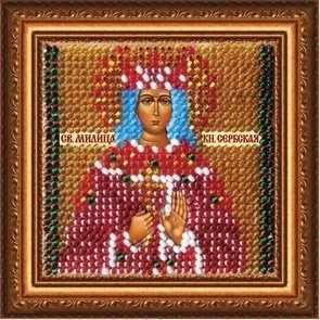 220-ПМИ Икона Св. Милица,княгиня Сербская (ВМ)