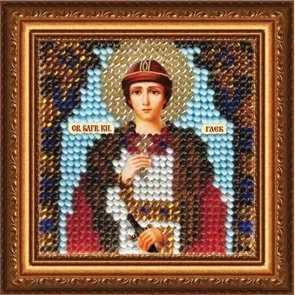 223-ПМИ Икона Св. Блгв.князь Глеб (ВМ)
