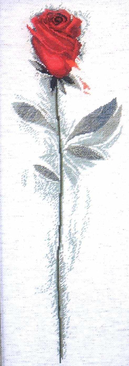 2424 Red Rose (Design Works)