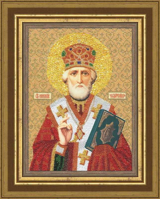 Вышивка святитель николай чудотворец 15