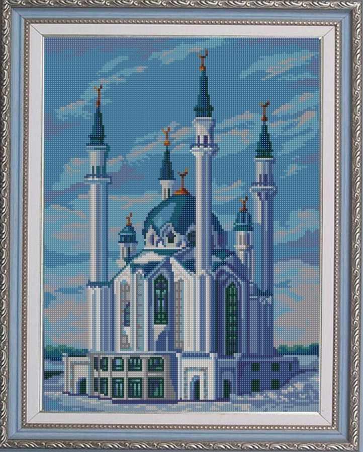 Схем а вышивки мечети 231