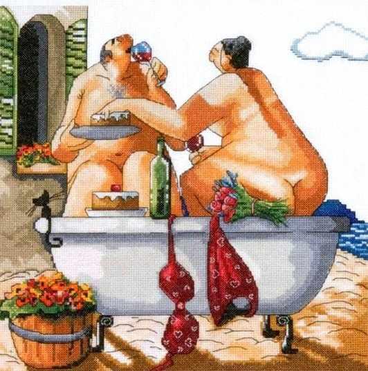2736 Bathing Beauties (Design Works)